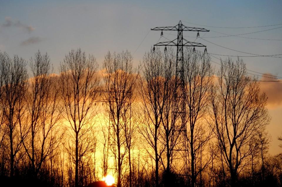 De zon kwam gisteren zeer fraai op en daarna was het ook een fraaie dag. Foto is van Bram van Zanten.