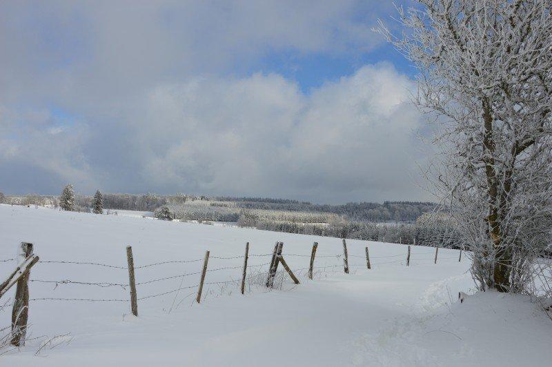 Nog een fraaie sneeuwfoto van Stefan Vermandele.