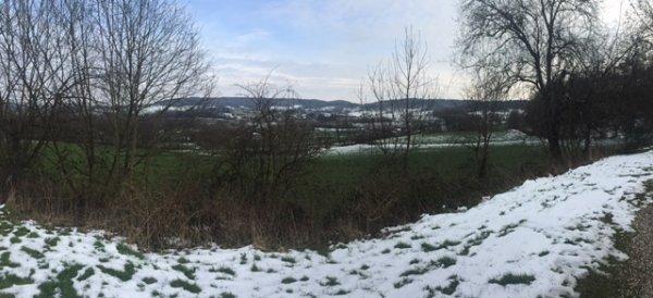 Nog een fraaie sneeuwfoto uit het Limburgse Vaals van Peter van Lindenberg.