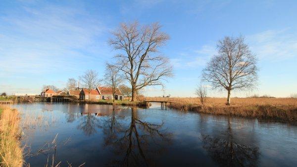Het was gisteren werkelijk prachtig weer met volop zon. Deze zeer fraaie foto werd gemaakt door Martin Vye.