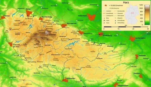 De Harz / bron:Wikipedia