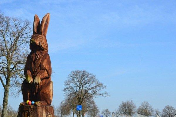 Het was gisteren prachtig weer, zo ook hier in het Limburgse Haasdal. Foto is gemaakt door Harry van Spanje.
