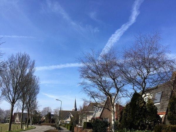 Opnieuw een prachtige dag. Deze foto werd gemaakt door Jan Leijen.