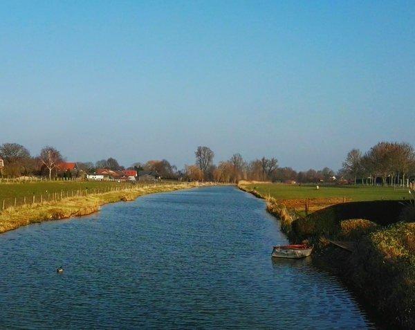 In delen van het land scheen gisteren de zon volop. Deze foto is van Joyce Derksen.