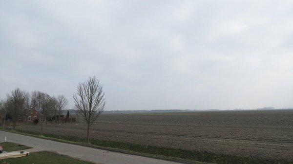 In het noordoosten was het over het algemeen bewolkt en ook vrij koud. Foto is van Jannes Wiersema.