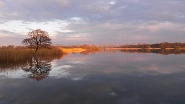 Daarna een mix van zon en wolken en rustig weer met vrijwel geen wind. Foto is van Martin Vye.