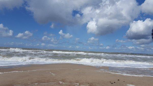 Mark Wolvenne maakte deze fraaie foto op het strand van Zeeland.