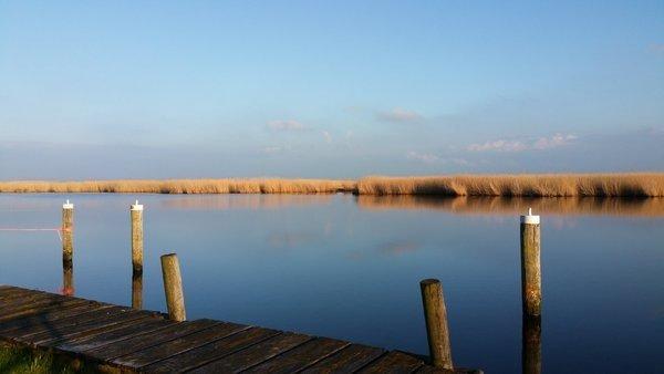 Het klaarde gisteren in de middag flink op in het westen van het land. Deze foto werd gemaakt door Erik van den Brun.