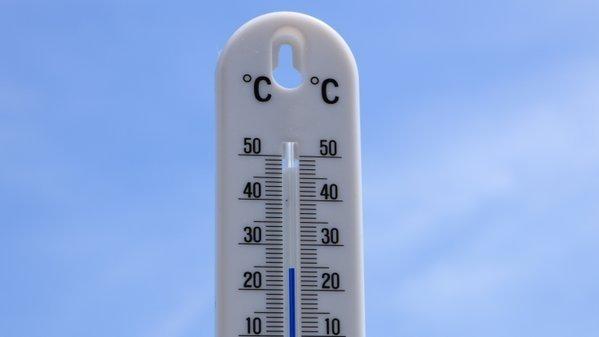 in het noorden van het land scheen de zon en kon de temperatuur oplopen naar (bijna) zomerse waarden. Foto is van Martin Vye.