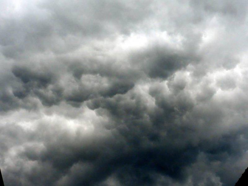 de lucht zag er af en toe dreigend uit. Foto is van Henriette Langeveld.