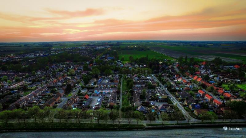 deze schitterende luchtfoto kreeg ik toegestuurd door Ofer Vazana uit Winkel.