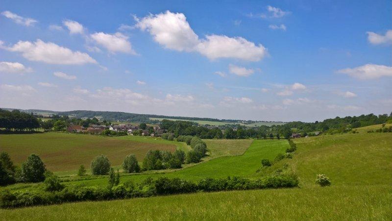 Ook in Limburg was het gisteren prachtig weer. Deze Foto werd gemaakt door N. Coenen