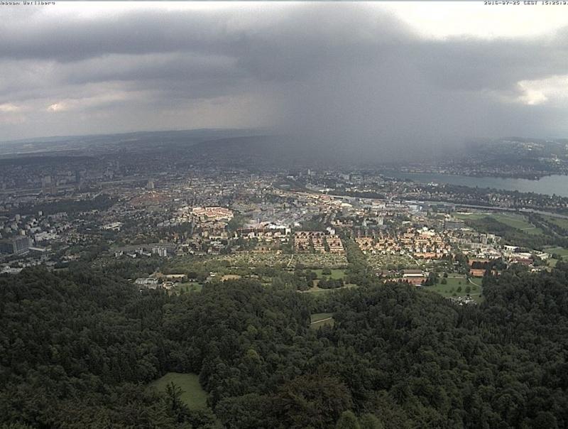 Üetliberg Sendeturm -Zürichberg