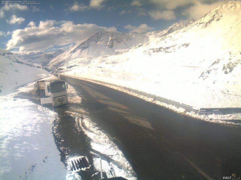 Passo Foscagno 2290m