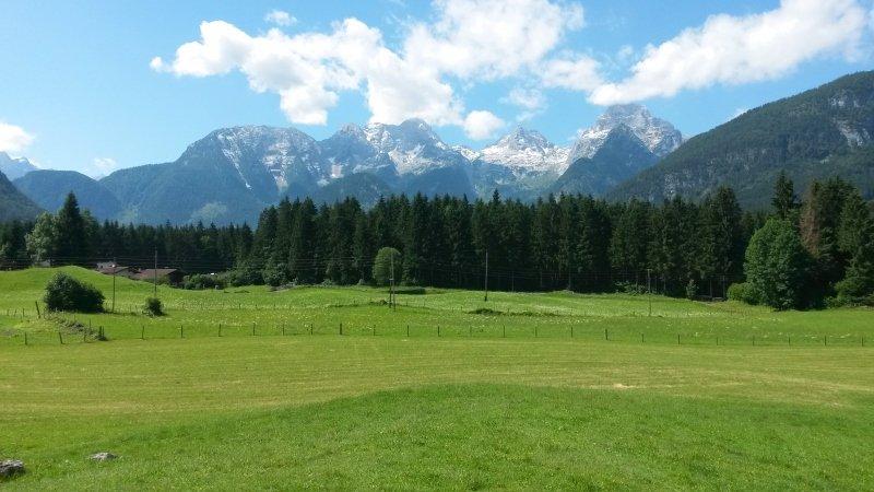 Ook mooi zomers weer afgelopen dagen (Bild Landhaus Sonnheim Lofer)