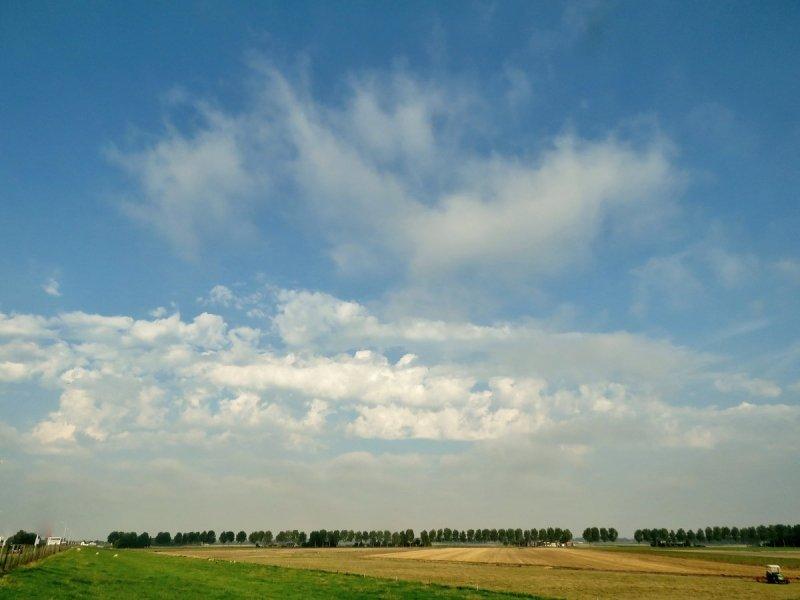 Ton Wesselius maakte ook een mooie foto van de onweersverklikkers.