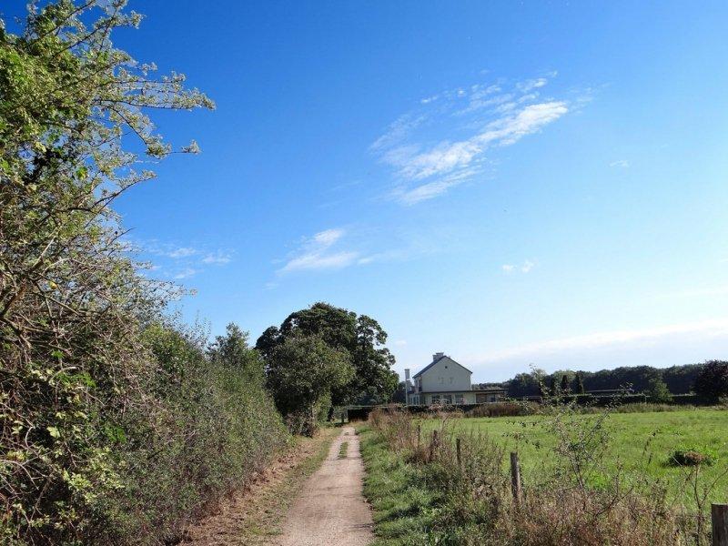 Er waren ook gebieden met flinke zonneschijn zoals hier in het zuidoosten. De foto werd gemaakt door Agnes Nijskens