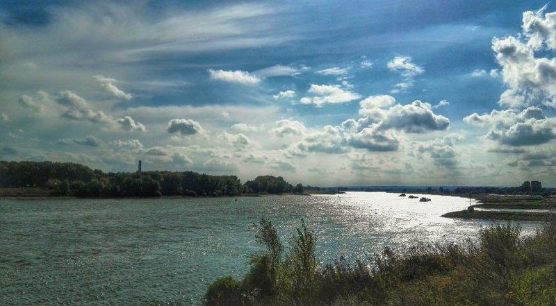 We hadden gisteren een mix van zon en wolkenvelden. Deze foto werd gemaakt door Joyce Derksen.