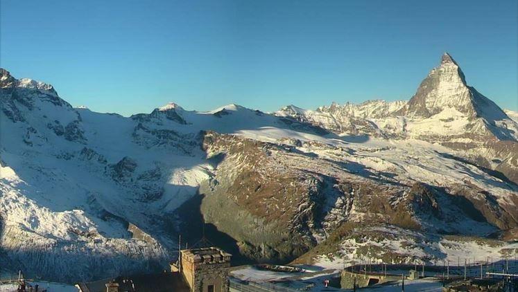 Ook in Zwiterserland schijnt de zon volop. Bron: Bergfex