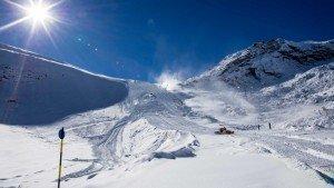 Schitterende condities voor de wereldbeker in Sölden. Bron: hotspot-der-alpen.soelden.com/