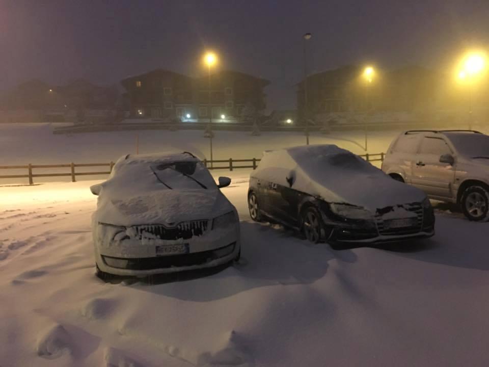 Een flink pak sneeuw in Serre Chevalier