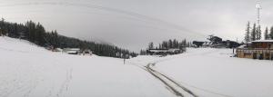 In Serre Chevalier sneeuwde het tot een lagere hoogte.