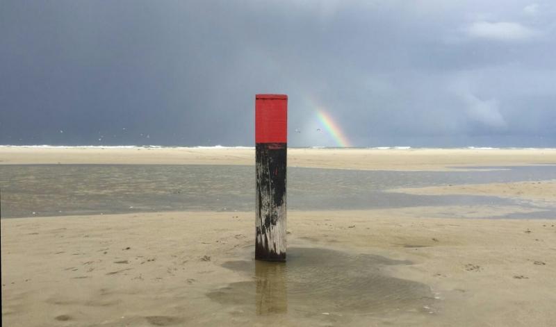 flinke buien ook op Terschelling. Foto gemaakt door Carel ten Hoor.