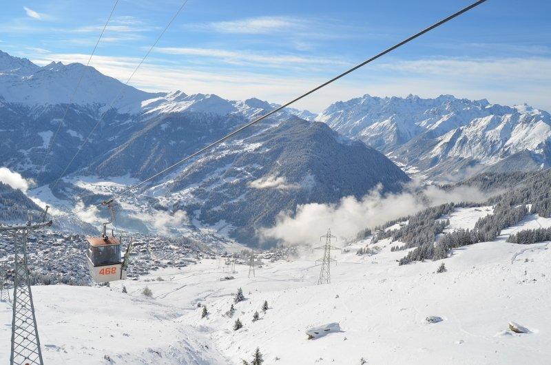 De oude liftjes van La Tzoumaz naar Verbier zijn een attractie