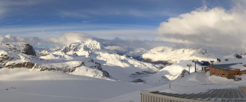 Na de sneeuw komt de zon. Prachtig weer hier in Tignes. Bron: bergfex.at