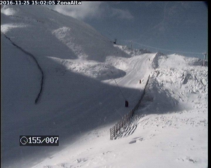 Webcam leitariegos in het noord-westen van Spanje. Bron: bergfex.at