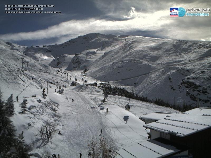 Het skigebied Pradollano in de Sierra Nevada in Andalusië. Bron: bergfex.at