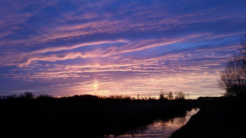 deze prachtige foto werd gemaakt door Bas Ruggeberg en ingezonden naar foto@alpenweerman.nl