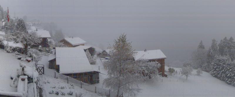 Winters weer bij hotel Belle Vue in Wengen. Bron: http://bellevue.roundshot.com/