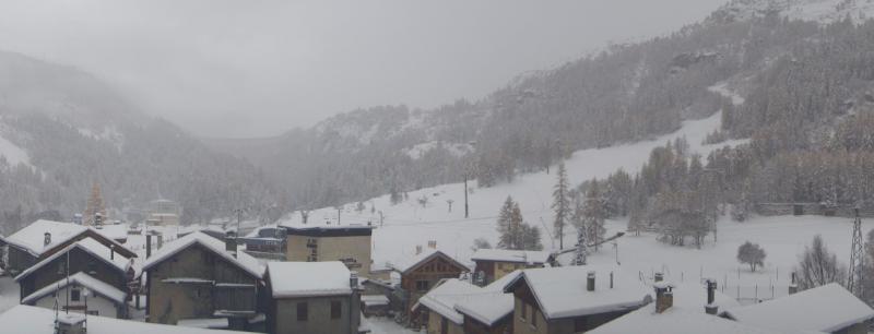 Ook hier in Tignes Les Brevières zorgt de sneeuwval voor prachtige winterbeelden. Bron: tignes.com