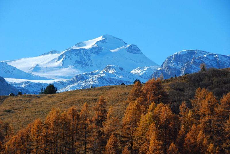 Maar ook deze laatste herfstfoto vanuit Tignes wil ik jullie niet onthouden, prachtig gewoon! Bron: twitter Tignes