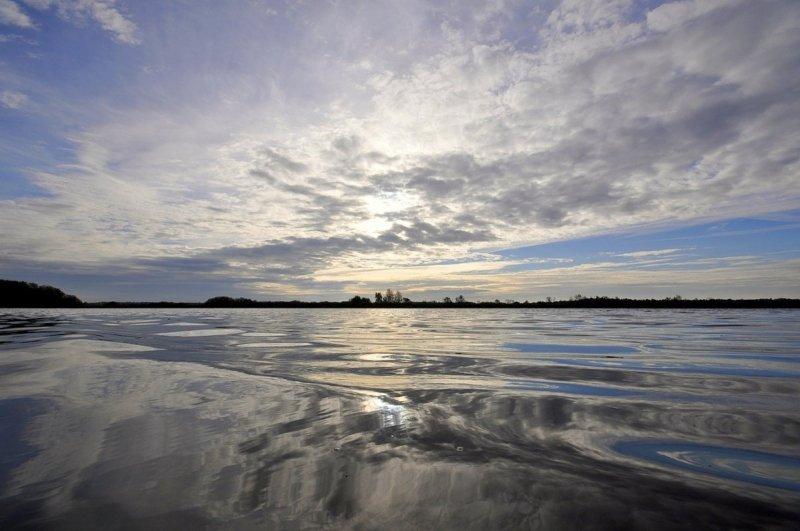 naast wolkenvelden kwamen ook zonnige momenten voor. Deze prachtige foto werd gemaakt door Ben Saanen.