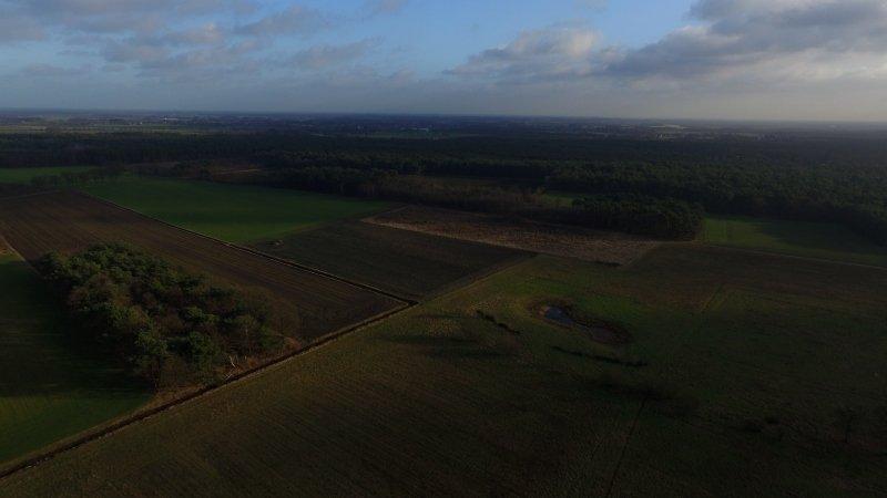 Marcel Pijpers ging er gisteren weer met de drone opuit met dit als prachtig resultaat.