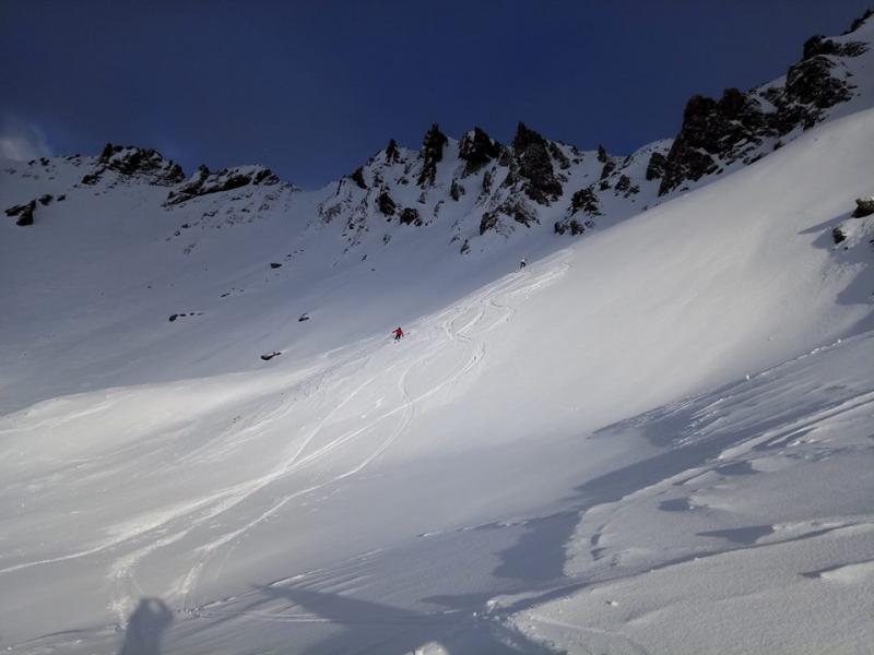 De condities in Tignes blijven goed. Op grote hoogte is de sneeuw van goede kwaliteit. Bron: twitter Tignes