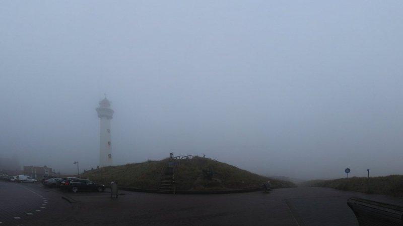 Op veel plaatsen was het gisteren grijs en bewolkt. Deze foto werd gemaakt door Sjef Kenniphaas.