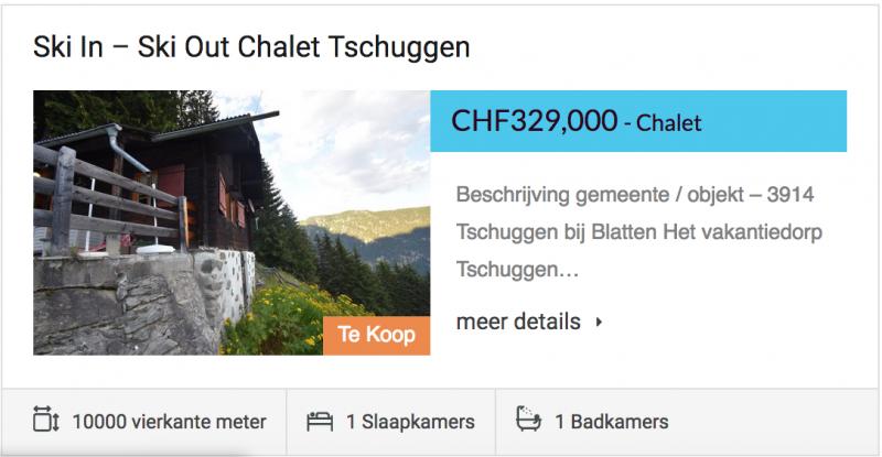 Ski in – Ski out Chalet Tschuggen