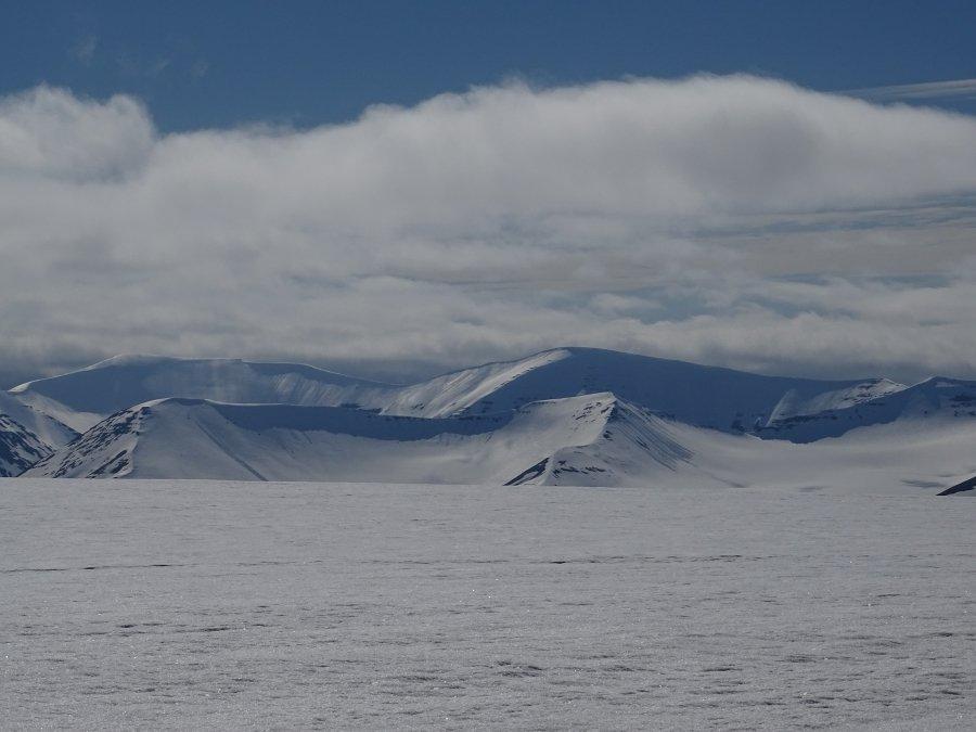 Foxfonna gletsjer Spitsbergen