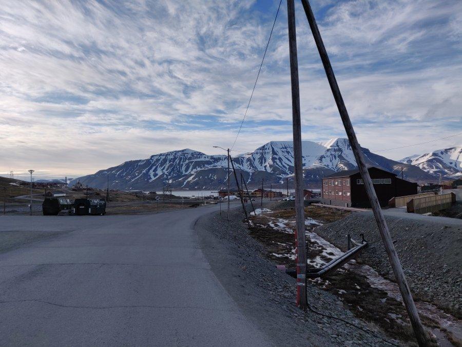 Longyearbyen in Spitsbergen