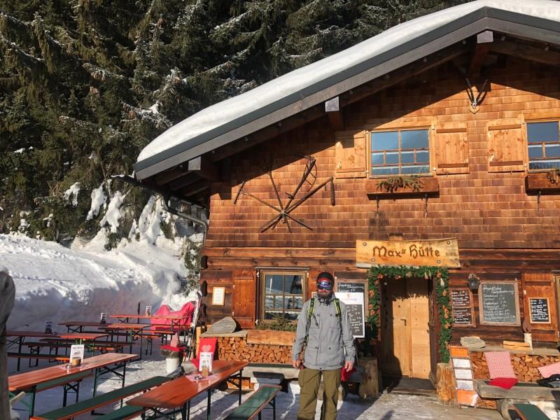 De Max Hütte één van de leuke berghutten in het Kleinwalsertal