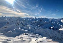 Een prachtig uitzicht in Oberstdorf