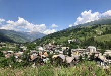 Cesana torinese, een prachtig dorp in de Alpen